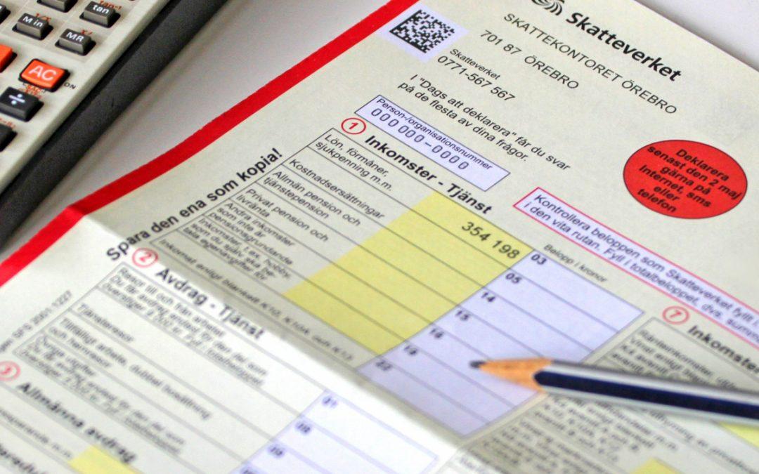 Skatteverket gjort en miss i deklarationsblanketten för AB